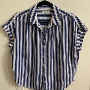 Boxy Madewell Button Up